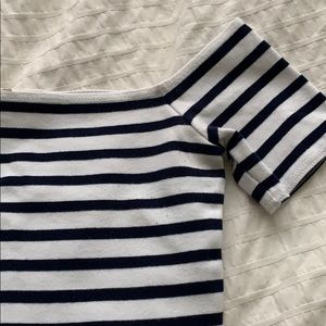 Wilfred free striped crop top